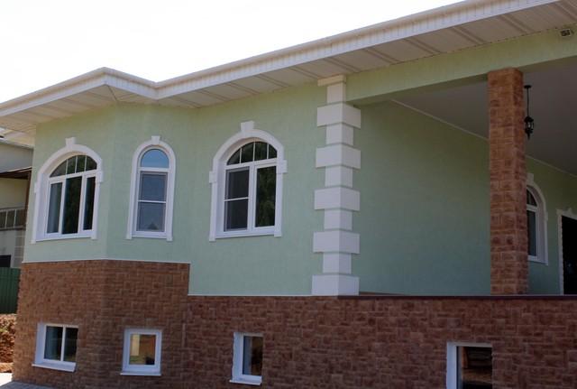 Строим загородный дом по технологии Мокрый фасад